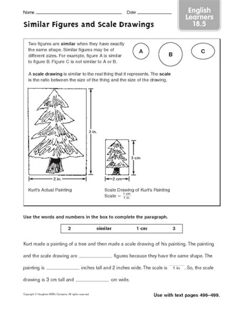 7th Grade » Scale Factor Worksheets 7th Grade  Printable Worksheets Guide For Children And Parents