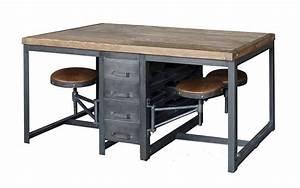 Bureau Style Industriel : 1001 id es meuble industriel une retraite d corative bien m rit e ~ Teatrodelosmanantiales.com Idées de Décoration