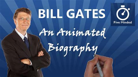 Bill Gates Quick Biography: Microsoft - YouTube