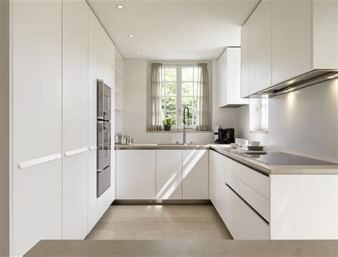 u shaped kitchen designs modern quot u quot shaped kitchen but white would be stark in 6473