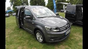 Volkswagen Caddy Maxi Confortline : volkswagen vw caddy 4 maxi comfortline indium grey model 2017 walkaround interior ~ Medecine-chirurgie-esthetiques.com Avis de Voitures