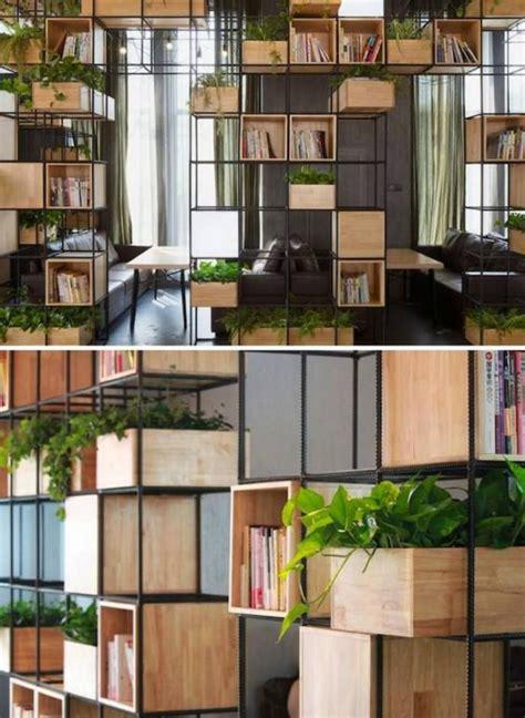 plante pour chambre à coucher la séparation de pièce en 83 photos inspiratrices