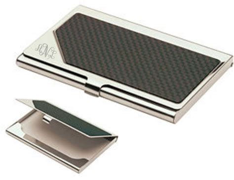 Monogrammed Carbon Fiber Business Card Holder Personalized Business Card Free Generator Civil Engineer Design Electronic Gmail How To Create Email Signature Cards Ireland American Express Stolen Cheshire Ct Visiting Images Download