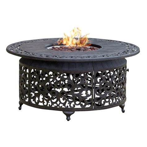 fire pit table sale paramount fp 251 round outdoor propane fire pit table