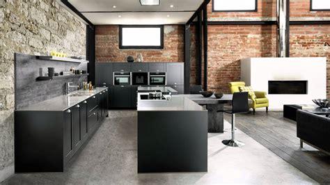 cuisine schmidt limoges du noir mat un plan de travail minéral le style