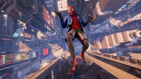 wallpaper spider man miles morales screenshot  games