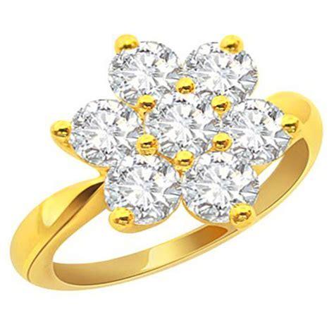 floral ring flower shape diamond rings diamond rings online surat diamond
