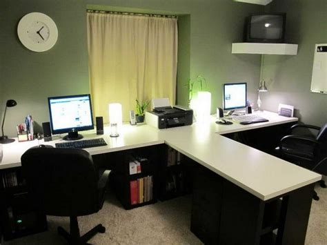 white two person desk 2 person desk for home office two person desk