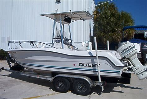 The Quest Boat by Reduced 1995 Omc Quest 21 Center Console The Hull