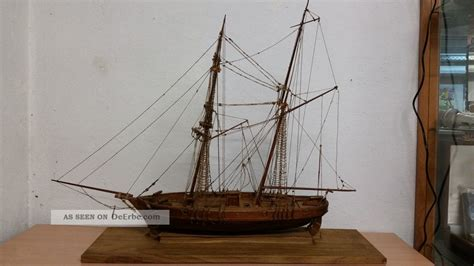 Le Mit Holz by Le Hussard 1848 Holz Schiffsmodell Mit Baupl 228 Nen
