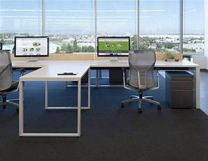 Bright open concept office natural light interior design for Open office design concepts