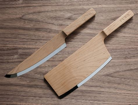 kitchen knife design yea or nay fdrl s wooden kitchen knives core77 2105