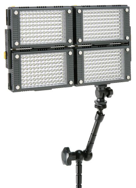 calumet pro series stackable led light panels cold