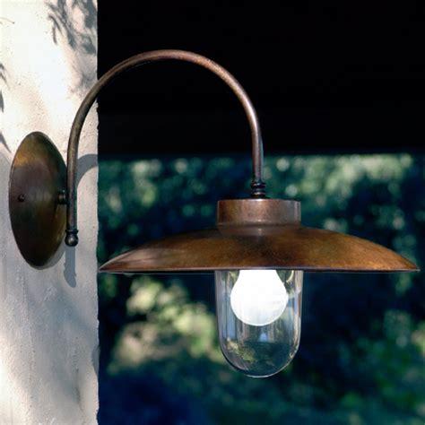 applique rame applique la traviata di aldo bernardi in rame vetro