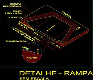 Disabled Ramp Design Ramp Accessibility In Autocad Cad Download 19 86 Kb