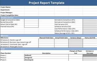 Project Reports Templates by Project Report Template Projectemplates