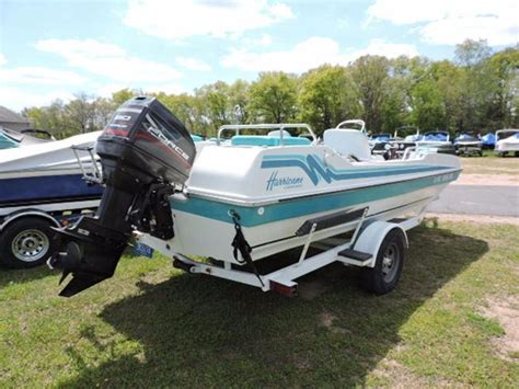 Hurricane Deck Boat Godfrey by 1995 Used Godfrey Marine Deck Boat For Sale Jackson Mi