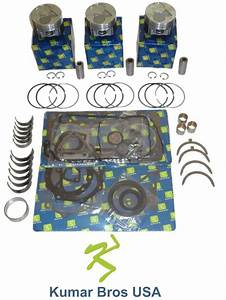 New Kubota D902 Overhaul Kit Std