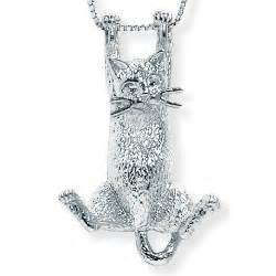 cheap name necklaces beautiful palmbeach jewelry sterling silver cat pendant
