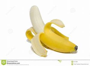 Peeled Banana stock photo. Image of banana, delicious ...