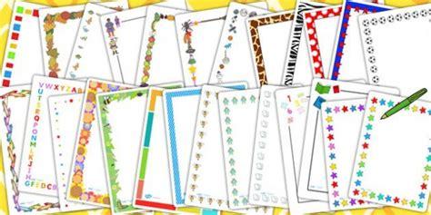 ks page border variety pack writing aid writing