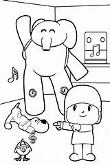 Coloring Pocoyo Pages Para Colorear Printable Imprimir Cool2bkids Colouring Children Printables Sheets Paginas Friends Cartoon Toddlers Books Spanish Toddler sketch template
