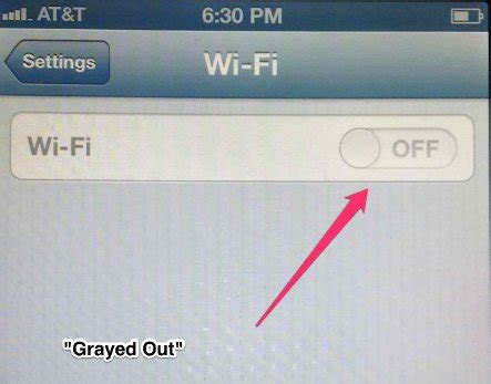 iphone 4s wifi greyed out how to fix iphone wifi grayed out issue