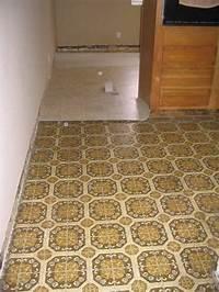 linoleum floor tiles Removing Yellow Stains From Linoleum Floors   Hunker