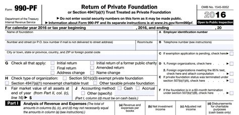 what is irs form 990 pf foundation group 174