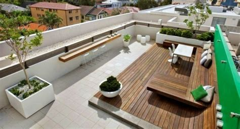 Roof Terrace : Roof Terrace Design Ideas, Examples And Important Aspects