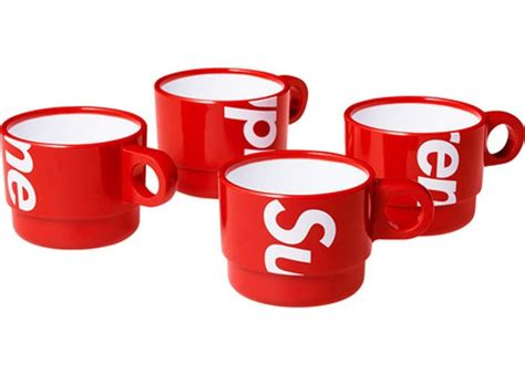 Color rush air monarch iv — welcome to deadstock. Supreme Stacking Cups (Set of 4) | Hype Vault