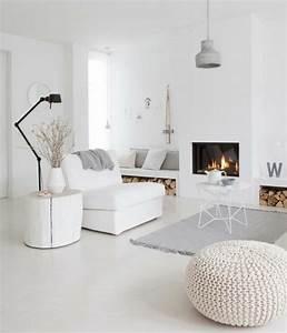 Deco Avec Du Gris : d co salon gris 88 super id es pleines de charme ~ Zukunftsfamilie.com Idées de Décoration