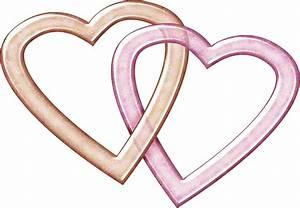 Double Heart Art - ClipArt Best