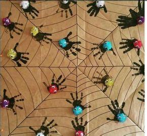 handprint spider craft crafts  worksheets