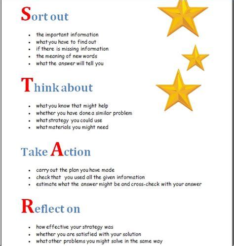 star model  problem solving  maths behavior