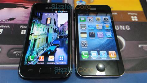 iphone vs galaxy samsung galaxy s vs iphone 4 display screens