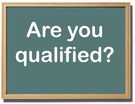 What Are Your Qualifications by Q Is For Qualified Words Are Timeless