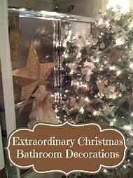 bathroom christmas decoration - Christmas Bathroom Decorations
