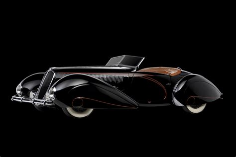 rolling sculpture art deco cars
