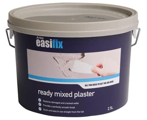 artex easifix ready mixed plaster 2 5l departments diy