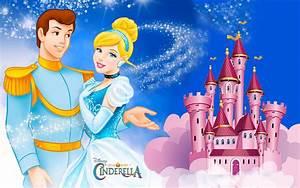 Prince, Charming, And, Cinderella, Disney, Hd, Love, Wallpaper