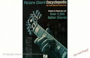 Picture Chord Encyclopedia For Lh Guitarists Left Handed