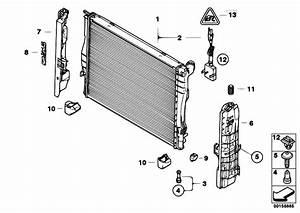 Original Parts For E93 328i N51 Cabrio    Radiator