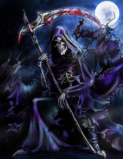 Reaper Grim Deviantart Skulls Death Dark Badass