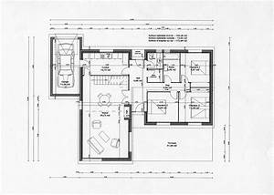 plan gratuit maison architecte contemporaine With plan maison en bois gratuit