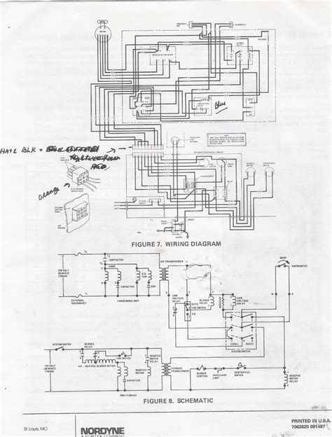Wiring Diagram For Ga Furnace by Coleman 7900 Gas Furnace Wiring Coleman Furnace Wiring