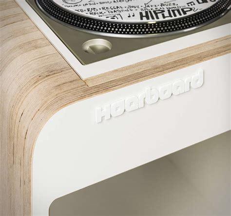 Hoerboard  Meuble Retro Pour Platines Et Disques Vinyles