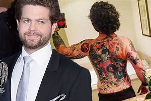 Jack Osbourne unveils Samurai inspired back tattoo and it ...