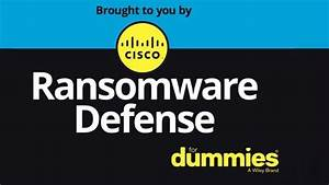 Ransomware Protection - Cisco Ransomware Defense
