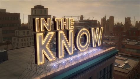 In The Know Preview - YouTube